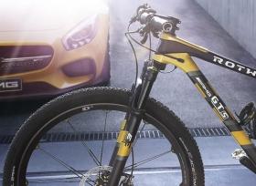 دراجة مستوحاة من مرسيدس