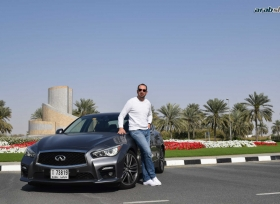 انفينيتي Q50 S بقبضة فريق عرب شفت