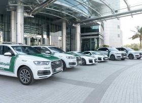 شرطة دبي تضيف أودي R8 و Q7 لأسطول دورياتها الفارهة