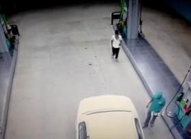 سطو مسلح داخل محطة وقود في السعودية