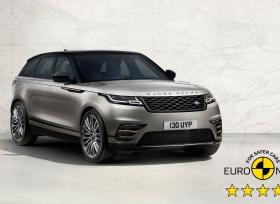 رينج روفر فيلار تحصل على تصنيف خمس نجوم من البرنامج الأوروبي لتقييم السيارات الجديدة Euro NCAP