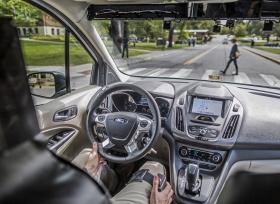 تعاون وثيق بين فورد موتور كومباني ومعهد فرجينيا لتكنولوجيا النقل لتطوير إشارات تتيح للمركبات ذاتية التحكم التواصل مع الأشخاص