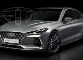 صورة توقعية لسيارة جينيسيس G70 الجديدة