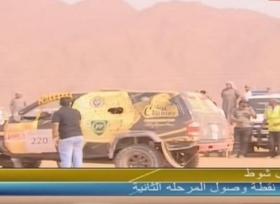 متسابق سعودي ينقذ حياة أحد المنافسين ضمن سباق رالي حائل