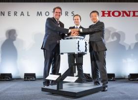جنرال موتورز تتعاون مع هوندا لتأسيس أول مشروع صناعي مشترك في قطاع السيارات لتطوير نظام خلايا الوقود في ولاية ميشيغان