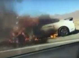 فورد موستانج شيلبي GT350R تحترق بسبب خلل مصنعي