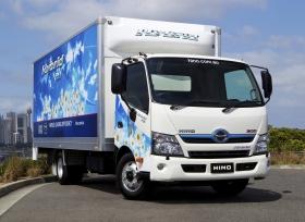 الفطيم للسيارات تطلق أول شاحنة هجينة في الإمارات