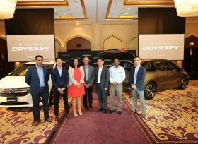 شركة هوندا للسيارات مكتب أفريقيا والشرق الأوسط تعلن عن إطلاق  هوندا أوديسي الجديدة بالكامل
