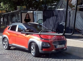 صور مسربة لسيارة هيونداي كونا الجديدة
