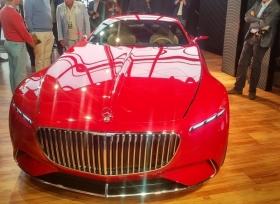 مرسيدس مايباخ تكشف رسميا عن سيارتها الاختبارية Vision 6 الكهربائية