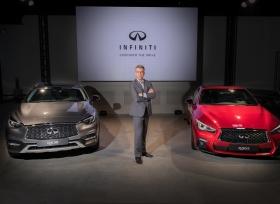 انفينيتي تكشف عن سيارتين جديدتين قبيل إنطلاق  معرض دبي الدولي للسيارات 2017