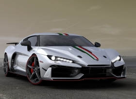 ItalDesign تطلق سيارتها الخارقة Zerouno في معرض جنيف