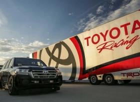 تويوتا لاندكروزر  تحصد لقب أسرع SUV في العالم