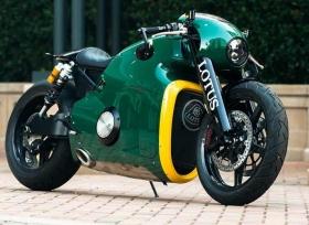 درّاجة لوتس النارية C-01 بسعر لا يصدق