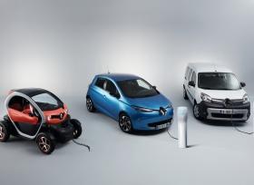 مجموعة المركبات الكهربائية (EV) من 'رينو'