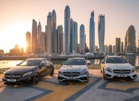 تعـاون مشـترك بـين ســيارات مرسيدس الـشرق الأوسط و إكـس دبي لتـنفـيذ ثلاث مغامرات تخطف الأنفاس