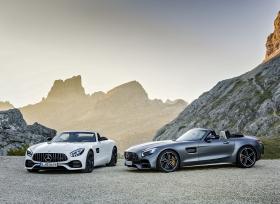 السيارتان الجديدتان GT رودستر و GT C رودستر من مرسيدس-AMG: قمة القيادة المكشوفة بروعة مضاعفة