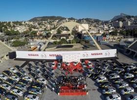 نيسان تسلم أسطول السيارات الرسمي إلى اللجنة المنظمة لأولمبياد ريو 2016