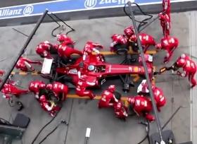 تغير عجلات سيارات سباقات في 6 انواع مختلفه من السباقات