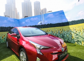 الفطيم للسيارات تتطلع نحو المستقبل مع طرح تويوتا بريوس في الإمارات