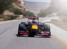 جولة مثيرة فى الاردن مع فريق ريد بول للفورمولا 1