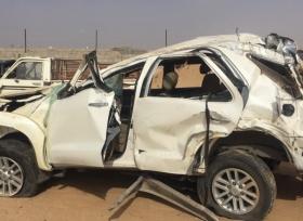 مبلغ ضخم يخسرها الاقتصاد السعودية سنويا بسبب الحوادث المرورية