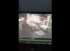 إندلاع حريق في محطة وقود في السعودية