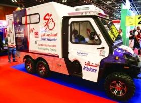 سيارات إسعاف دبي المستجيب البري_0