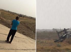 طائرة حربية سعودية تهبط هبوط اضطراري