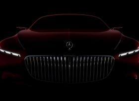 صورة تشويقية لسيارة مرسيدس مايباخ الاختبارية