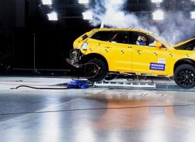 فولفو تحصد على لقب السيارة الاكثر امانا في اختبارات السلامة