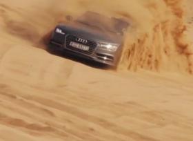 اودي A7 سبورت باك بتحدي مميز في دبي