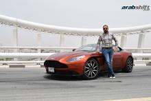 تجربة قيادتنا لسيارة استون مارتن DB11 V12
