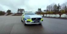 فولفو V90 تنضم الي شرطة السويد