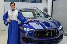 بريمير موتورز و مازيراتي تستضيف عرضاً لتشكيلة أزياء تريوسا