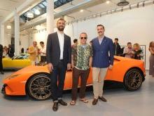 شركة لامبورغيني تقدم مجموعة ربيع صيف 2018 الجديدة في ميلانو مودا أومو